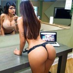 Sexy and nude pictures of Mia Khalifa