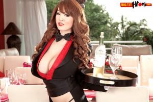 Big Tits Hitomi Tanaka as a party girl