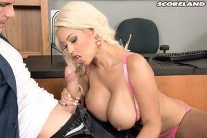 Busty Blonde Bridgette B Fucked By Towing Company