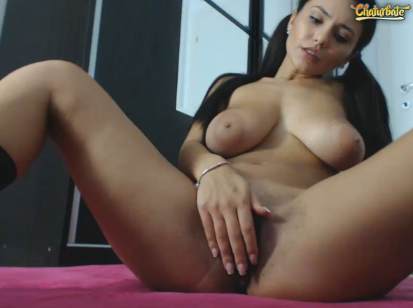 The hottest young busty girl   Lil Emma from Chaturbate