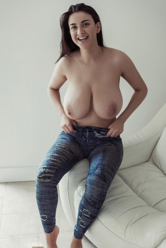 Huge Natural Tits Served Hot
