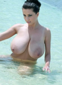 New Year and New Girls with Huge Natural Boobs